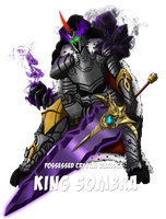 The Legend of Harmony - Boss King Sombra by Hellbeholder