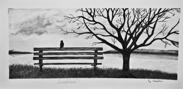 Tree of Loneliness by Maarel