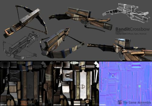 Bandit Crossbow by beere