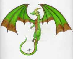 DRAGON by fallowsingerwolf