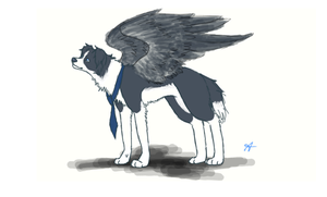 Castiel by FourDirtyPaws