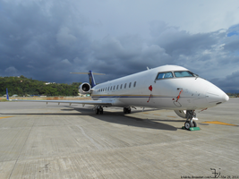 Plane 20140329 _ private jet by K4nK4n