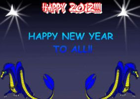 Happy 2012 to all Animation by Ikro2009