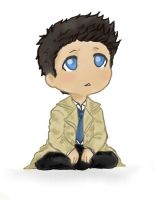 Little Castiel by Iryann