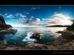 Purakanui Bay by mark-flammable