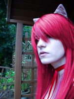Elfen Lied, Lucy Cosplay by CompletePsycho