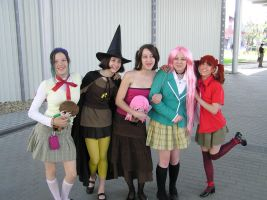 Rosario To Vampire team by geerybacsi