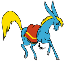 The Humpbacked Horse by Trunksi