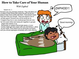 How to Take Care of your Human 2 by Artdirector123