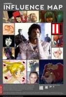 Luniara's Influence Map by luniara