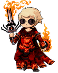 Homestuck - Dave Strider Windwaker Style by Aviarei