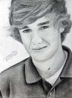 One Direction Drawing - Liam Payne :D by val1drawing