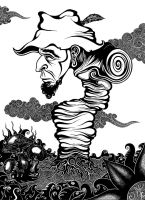 Traveler B/W by lilman101