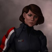 Shepard by drawanon