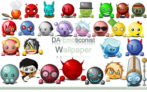 Emoticonist wallpaper FanArt by MixedMilkChOcOlate