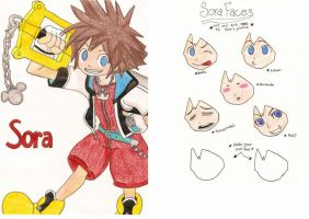 CoM Sora cut out faces by sketchpadmediaDA