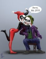 Harley and Mr. J by ElChocha