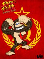 Street Fighter Donkey Kong by MightyMusc