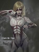 The Female Titan by Aelliseu
