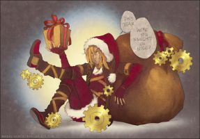 FC: Merry Steampunk Christmas to You by Megan-Uosiu