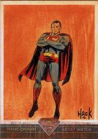 Superman: The Legend sketchcard 58 by RobertHack