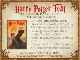 Harry Potter Event - Ad: 1 by eriney