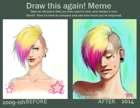Draw this again 2009-2014 by trasigpenna