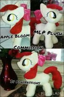 MLP Apple Bloom Plush by Ponypassions by ponypassions