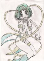 Tokyo mew mew Lettice colour by Izzy-Nightshade