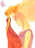 Flame Princess by ZeroReqiem