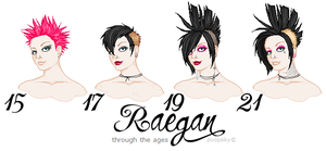 through the ages - raegan by konfusion-with-a-k