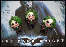 Chibi-Charms: The Joker by MandyPandaa