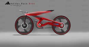 Adidas Race Bike Track by FalconXp