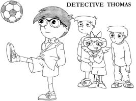 Thomarie-detective-thomas by firerirock