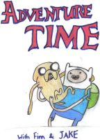 Finn and Jake by OliviaWhyteART
