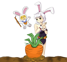 Big Carrot by Phibonnachee