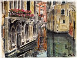 Reflections of Venice by SRussellart