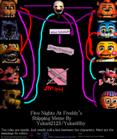 FNAF (2) Shipping by Minecraftgames