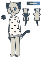 # sweater cat: offer to adopt *CLOSED* by Sorbaie