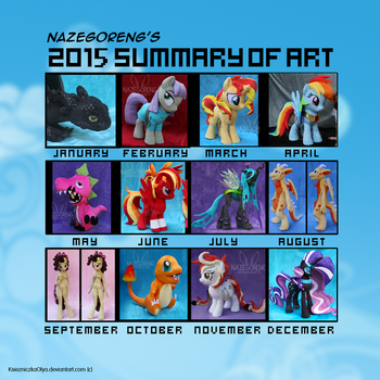2015 Summary of Art by Nazegoreng