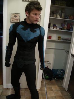 Nightwing Cosplay 90% complete  ( Batman Comics ) by CpCody