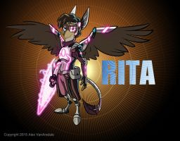 Rita Being Awesome! by AlexVanArsdale