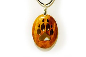 Wolf Paw pendant by JOVictory
