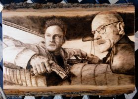 Breaking Bad (remake) - Wood Burning by brandojones