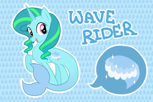 Wave Rider by LouiseLoo