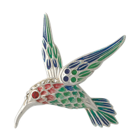 humming bird broach png by DoloresMinette