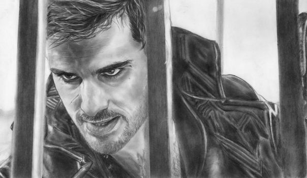 Captain Hook, Colin O'Donoghue (Once Upon a Time) by in3ganka
