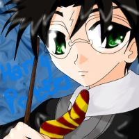 Harry Potter by pinky-pink