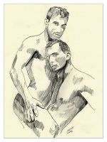 #038 Male Act Together by ArtByLes