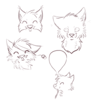 Some sketches i'll never finish by oOSchokoOo